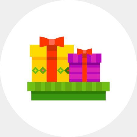 obody: Present Boxes Icon