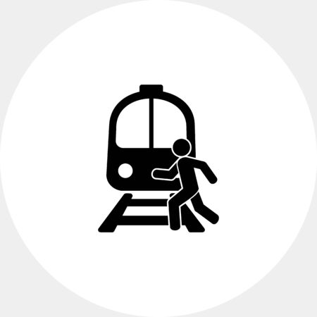 Rail Crossing Icon