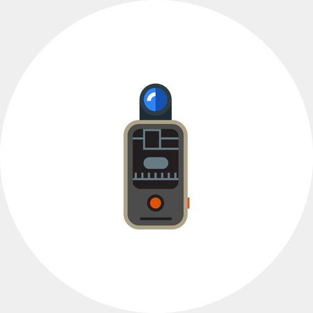 gatillo: icono de disparo de flash externa