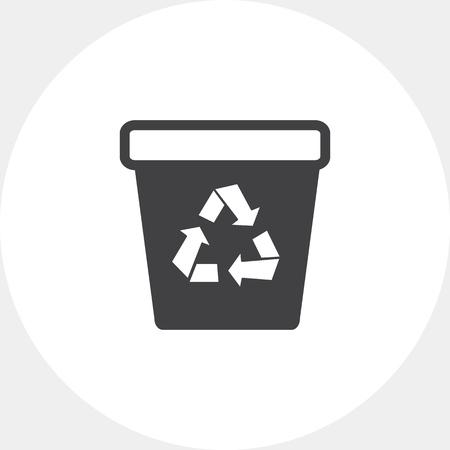 recycling: Recycling bin