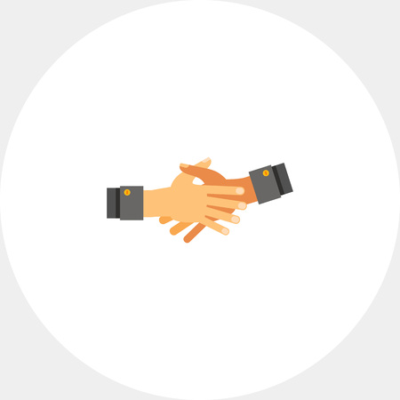 reach out: Two open hands stretched out for shaking and held together. Together hands, cooperation, partnership. Together hands concept. Can be used for topics like hand gesture, cooperation, partnership