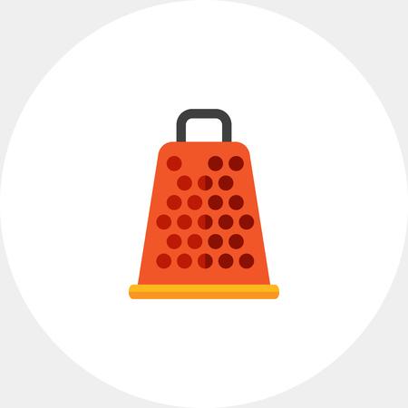 Kitchen grater icon