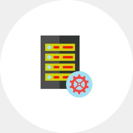 Repair server icon Stok Fotoğraf - 71808442