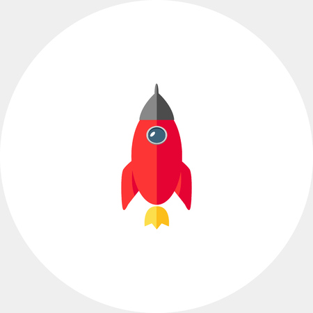 Rocket icon Illustration