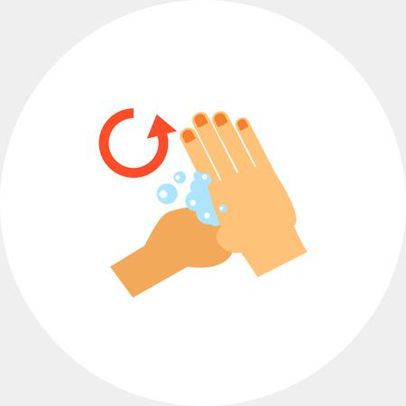 lavamanos: Icono de la base de pulgares de los pulgares