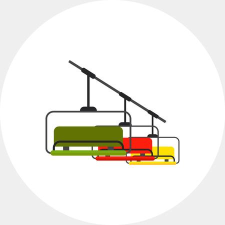 chairlift: Ski Lift Icon