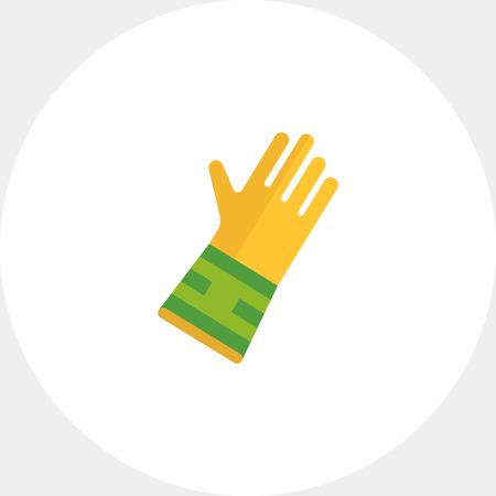 rubber: Rubber glove