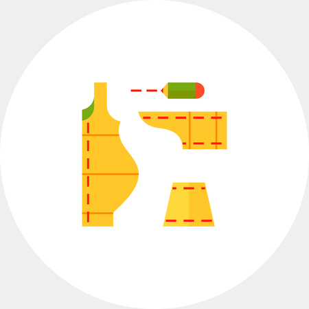 Sewing Pattern Icon