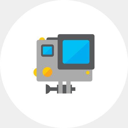 speed: Traffic speed camera icon