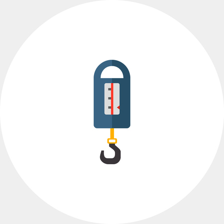 steelyard: Steelyard balance icon Illustration