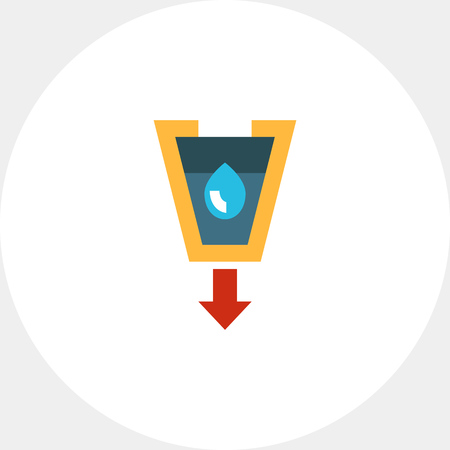 funnel: Stylized funnel icon