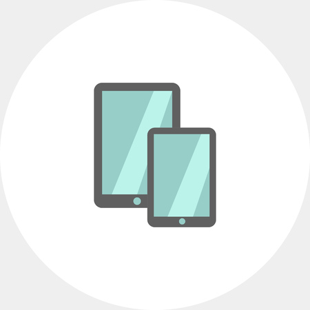 obody: Tablet computer and smartphone