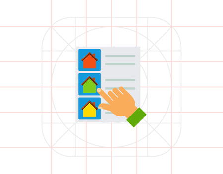 House list select icon