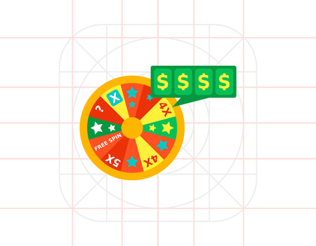 wheel of fortune: Lucky wheel icon
