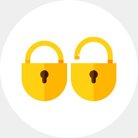 Two Locks Icon