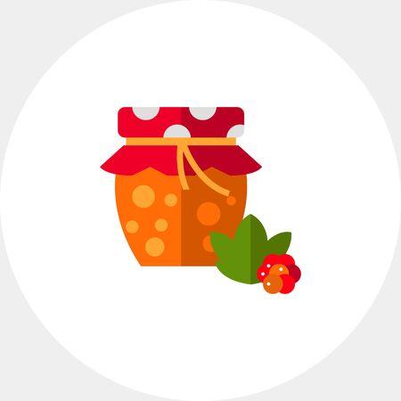 chicouté: Homemade cloudberry jam icon