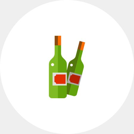 winemaking: Wine bottles icon