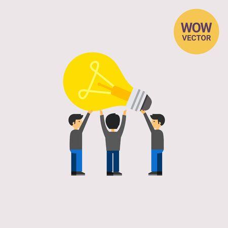 Common Idea Concept Icon Illustration