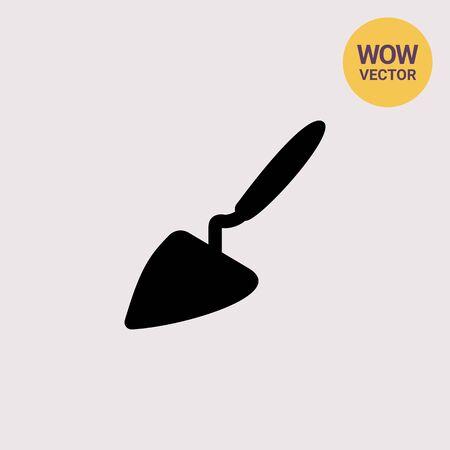 Construction trowel icon