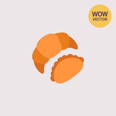 Croissant and bun