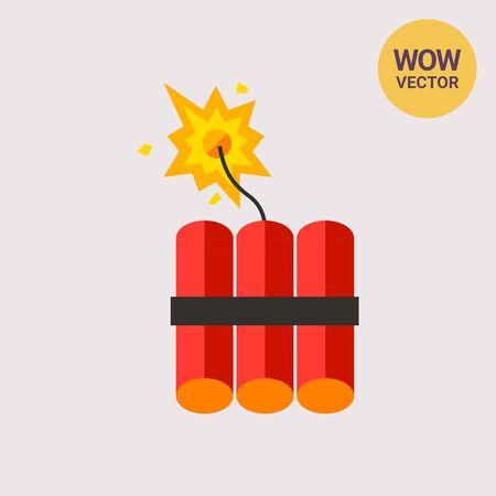 dynamite: Dynamite Vector Icon