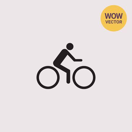 sport man: Cycler riding bicycle