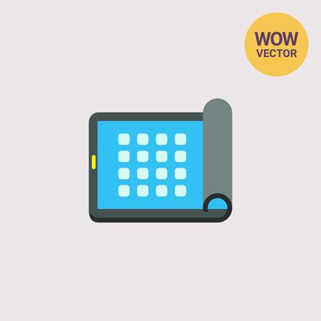 flexible: Flexible Electronic Visual Display Icon
