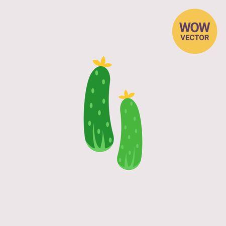 crunchy: Fresh cucumbers icon