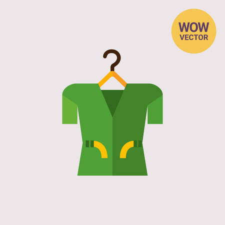 Green Clothing Item Icon