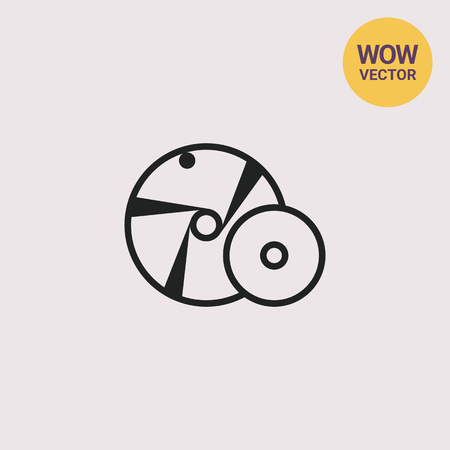 Grinding wheel Illustration