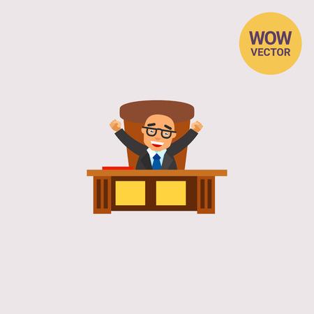 Happy Boss Icon