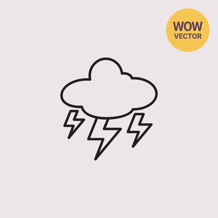 heavy rain: Heavy thunderstorm