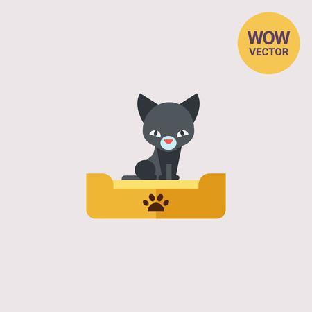 Kitten Flat Icon