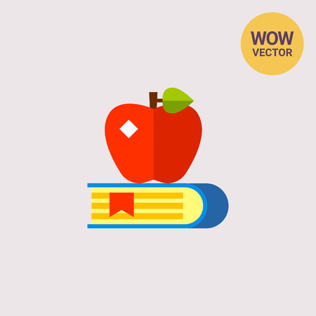 scholarship: Knowledge Concept Icon with Book Illustration