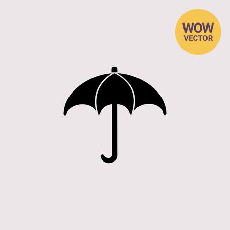 climatology: Meteorology simple icon Illustration