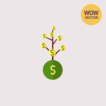 money: Money tree Illustration