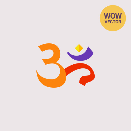 mantra: Om Sign Icon