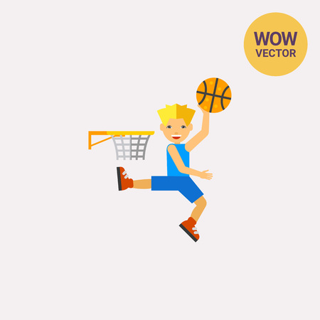 throwing: Basketball Player Throwing Ball Icon
