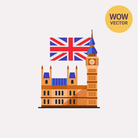 english culture: Big Ben icon