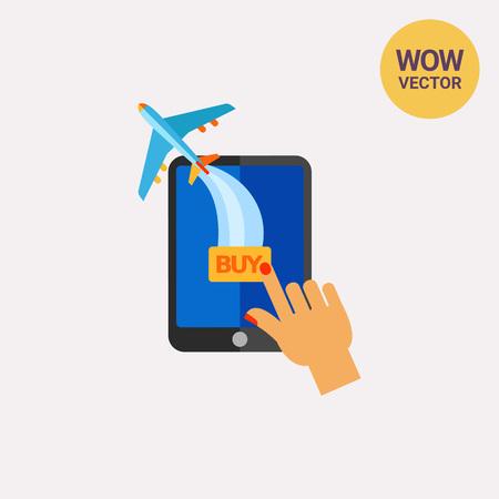 buying: Buying Ticket Online Icon