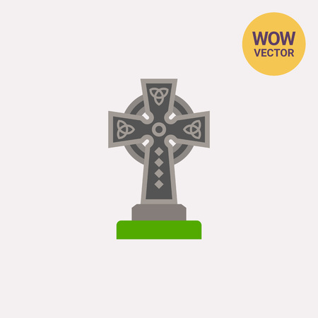 Celtic Cross Vector Icon Royalty Free Cliparts Vectors And Stock