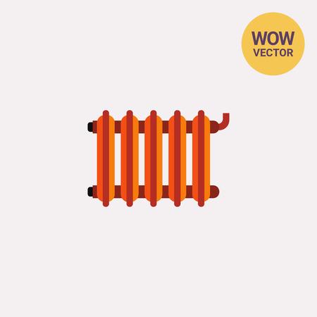 Heating radiator vector icon