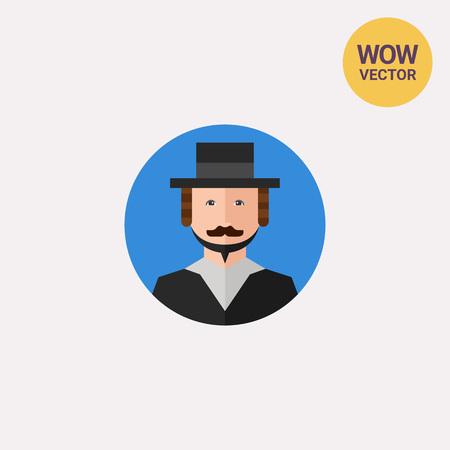 Rabbi Portrait Icon