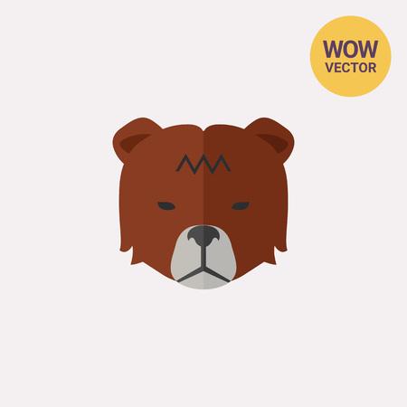 Stock market trend Bear Illustration