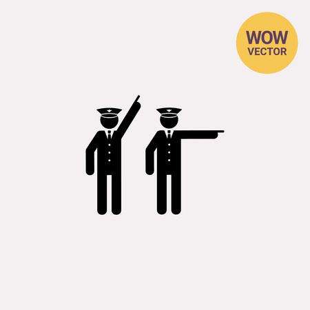 Two Policemen Icon