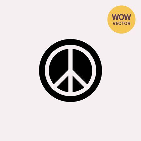 nonviolent: Pacific simple icon Illustration