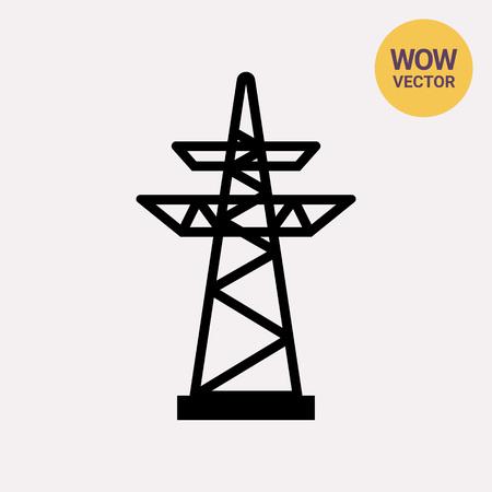 high voltage: Power transmission line