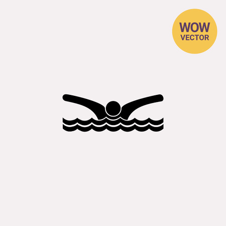 midsummer: Swimming Man Icon