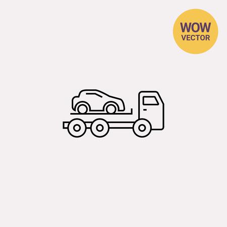 Tow truck  イラスト・ベクター素材