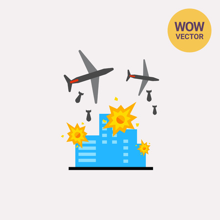 War Vector Icon Illustration